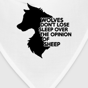 Wolves Don't Lose - Bandana