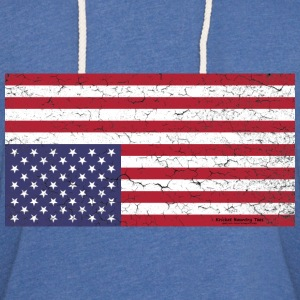 AMERICA:  Nation in Distress! T-Shirts - Unisex Lightweight Terry Hoodie