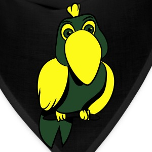 Parrot witty comic T-Shirts - Bandana