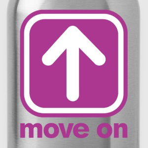 MOVE ON MOVE ON T-Shirts - Water Bottle