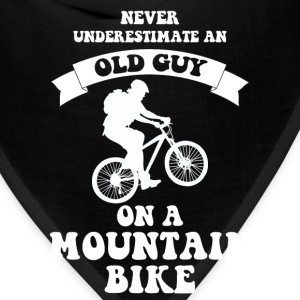 Never underestimate an old guy on a mountain bike - Bandana