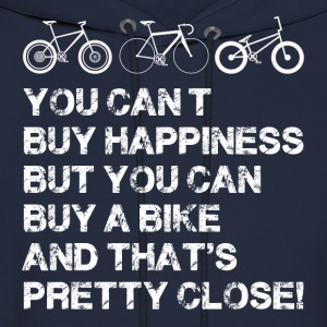 Happiness is a bike - Men's Hoodie