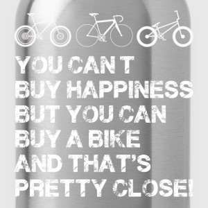 Happiness is a bike - Water Bottle