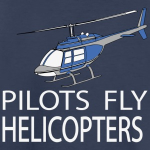 Pilots fly helicopters Kids' Shirts - Toddler Premium T-Shirt
