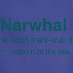 Narwhal. Unicorn of the sea T-Shirts - Adjustable Apron