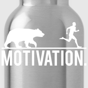MOTIVATION - Bear Chasing Jogger T-Shirts - Water Bottle