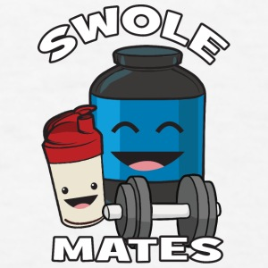 Swolemates (Protein Shake) Phone & Tablet Cases - Men's T-Shirt