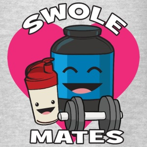 Swolemates (Protein Shake) Hoodies - Men's T-Shirt