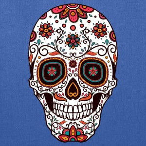 Sugar Skull - Day of the Dead #7 Hoodies - Tote Bag