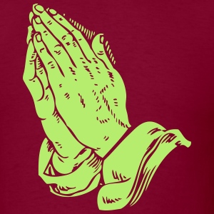 Automatic Praying Hands - Men's T-Shirt