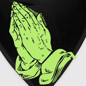 Automatic Praying Hands - Bandana