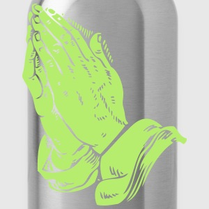 Automatic Praying Hands - Water Bottle