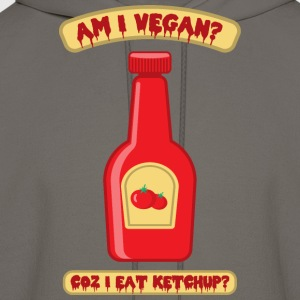 Vegan Ketchup Bottle - Men's Hoodie