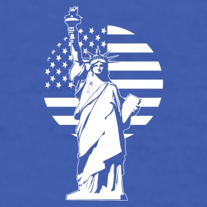 Lady Liberty Safety Pin Mugs & Drinkware - Men's T-Shirt