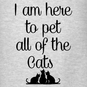 PET ALL THE CATS Hoodies - Men's T-Shirt