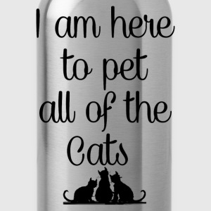 PET ALL THE CATS Hoodies - Water Bottle
