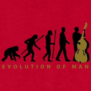 evolution_double_bass_11_2016_2c02 Mugs & Drinkware - Men's T-Shirt by American Apparel