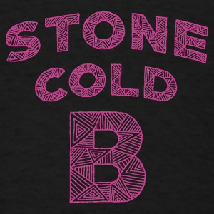 Stone Cold B, black, 12M - Men's T-Shirt