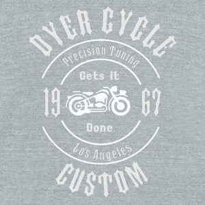 Dyer Cycle Precision Tuning - Unisex Tri-Blend T-Shirt by American Apparel