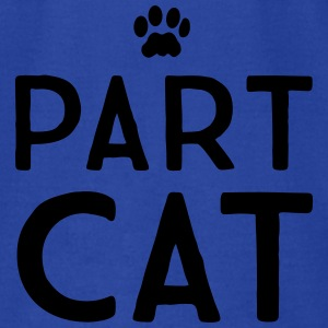 Part Cat Tanks - Men's T-Shirt by American Apparel