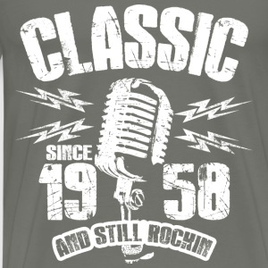 Classic Since 1958 Long Sleeve Shirts - Men's Premium T-Shirt