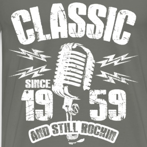 Classic Since 1959 Long Sleeve Shirts - Men's Premium T-Shirt