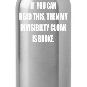 Invisibility Cloak - Water Bottle