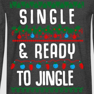 Single and ready to jingle - Men's Long Sleeve T-Shirt
