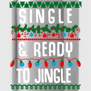Single and ready to jingle - Water Bottle