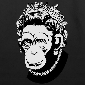 Monkey Queen - Eco-Friendly Cotton Tote