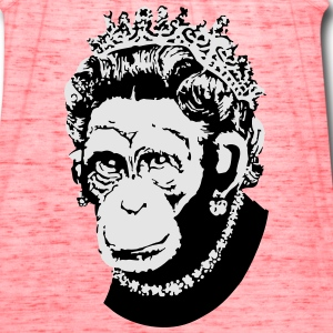Monkey Queen - Women's Flowy Tank Top by Bella