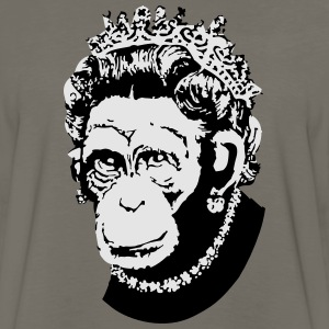 Monkey Queen - Men's Premium Long Sleeve T-Shirt