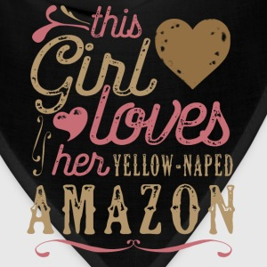 This Girl Loves Her Yellow-Naped Amazon Parrot T-Shirts - Bandana