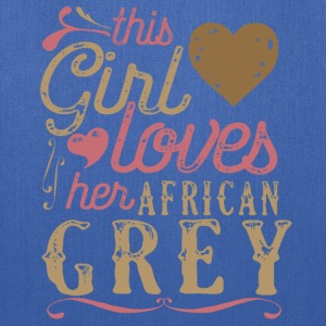 This Girl Loves Her African Grey Parrot T-Shirts - Tote Bag