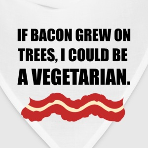 Bacon Grew Trees Vegetarian - Bandana