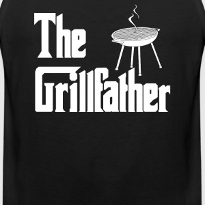 The Grillfather T-Shirts - Men's Premium Tank