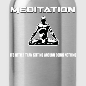 Meditation T-Shirts - Water Bottle
