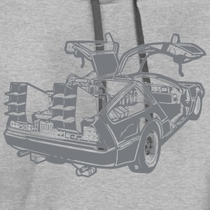 back to the future - Contrast Hoodie