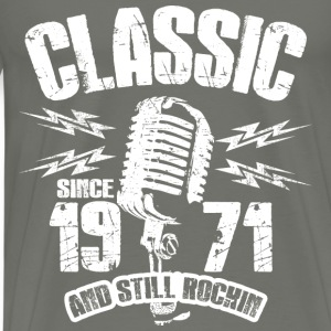 Classic Since 1971 Long Sleeve Shirts - Men's Premium T-Shirt