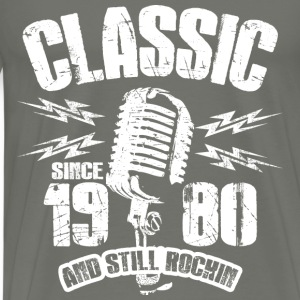 Classic Since 1980 Long Sleeve Shirts - Men's Premium T-Shirt