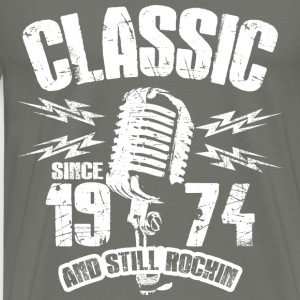 Classic Since 1974 Long Sleeve Shirts - Men's Premium T-Shirt