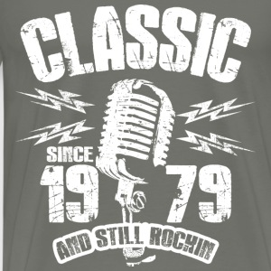 Classic Since 1979 Long Sleeve Shirts - Men's Premium T-Shirt