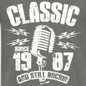 Classic Since 1987 Long Sleeve Shirts - Men's Premium T-Shirt