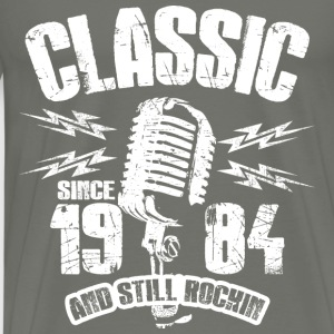 Classic Since 1984 Long Sleeve Shirts - Men's Premium T-Shirt