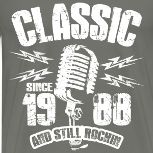 Classic Since 1988 Long Sleeve Shirts - Men's Premium T-Shirt