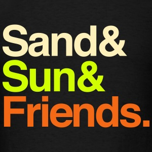 Sand Sun Friends Tanks - Men's T-Shirt