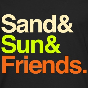 Sand Sun Friends Tanks - Men's Premium Long Sleeve T-Shirt