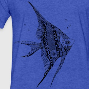 Angel Fish South South Tees Sweatshirts - Fitted Cotton/Poly T-Shirt by Next Level