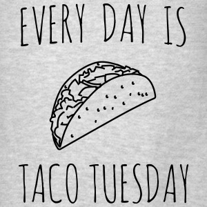 Every day is taco tuesday Tanks - Men's T-Shirt