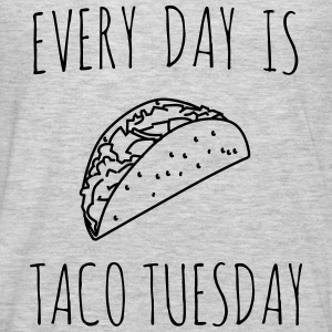 Every day is taco tuesday Tanks - Men's Premium Long Sleeve T-Shirt